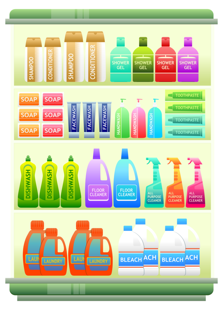 False positives Household products